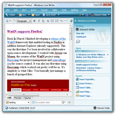WatiN supports Firefox! - Windows Live Writer