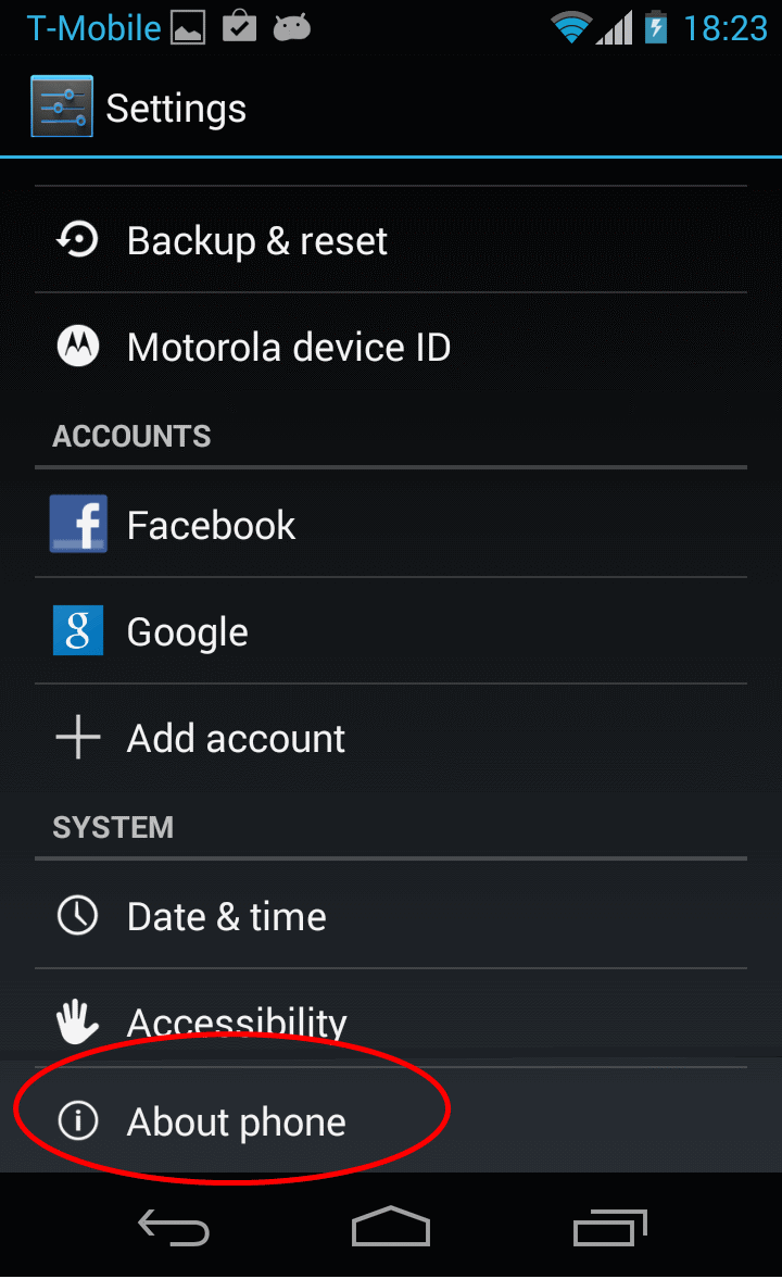 adb (android debug bridge) not showing device using Moto G and